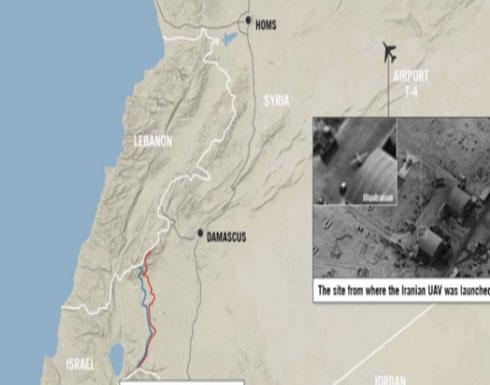 الجيش الإسرائيلي يكشف صور قاعدة إيرانية قرب تدمر
