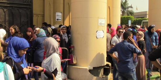 """جدل وسخرية بعد تطبيق قرار """"الطابور الصباحي"""" في الجامعات المصرية"""