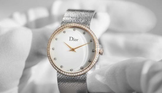 بالصور: ساعة ديور الجديدة.. سحر وأناقة بلمسات الراحل كريستيان ديور