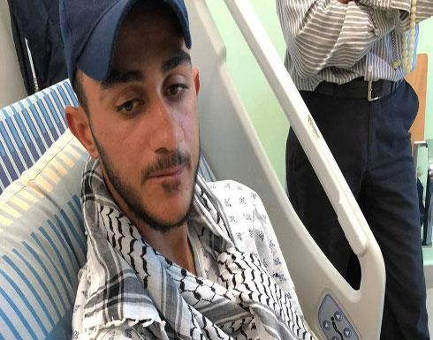 كيف أنقذ هاتف صحفيا فلسطينيا من رصاصة الاحتلال كادت تخترق شريانه (صور)