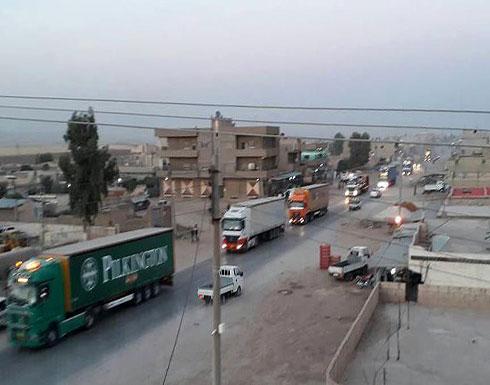"""150 شاحنة أمريكية تصل مناطق سيطرة """"ي ب ك"""" بسوريا"""