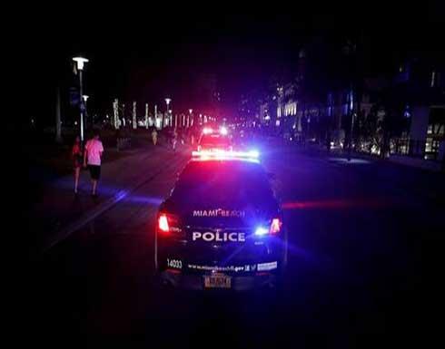 إصابة 7 أشخاص بإطلاق نار في مدينة ميامي الأمريكية