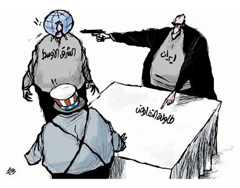 رؤية ايران للوصول الى طاولة المفاوضات