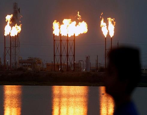العراق.. نصب خيم الاعتصام أمام حقل مجنون النفطي في البصرة