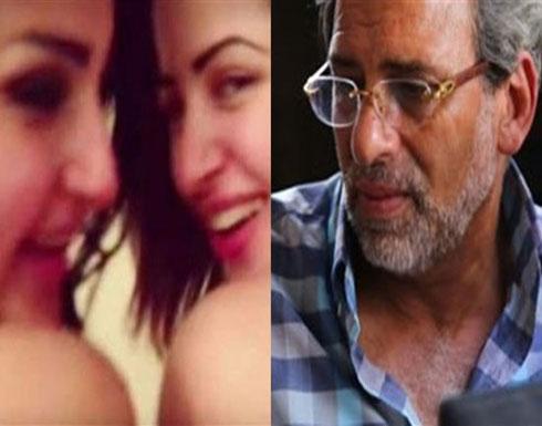 """بالفيديو ..منى فاروق: تلقيت تهديدات بعد """"الفضيحة"""" وخالد يوسف صوّرني وأنا سكرانة!"""