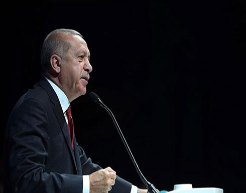 أردوغان: لا نجلس على نفس الطاولة مع تنظيم إرهابي