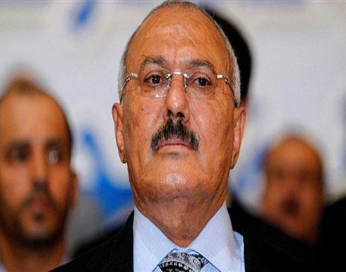 شاهد.. سيارة الرئيس اليمني السابق بعد تعرضها للهجوم