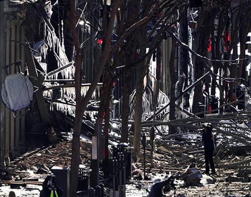الأمن الأمريكي: لا تهديد لناشفيل بعد تفجير الجمعة ونحلل 500 أثر محتمل