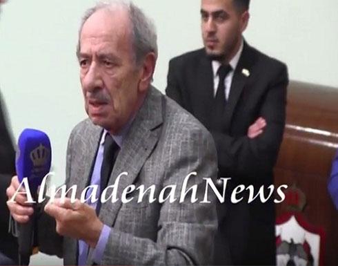 بالفيديو .. النائب الاردني طعيمة : نلوم ترامب ونحن السبب !!