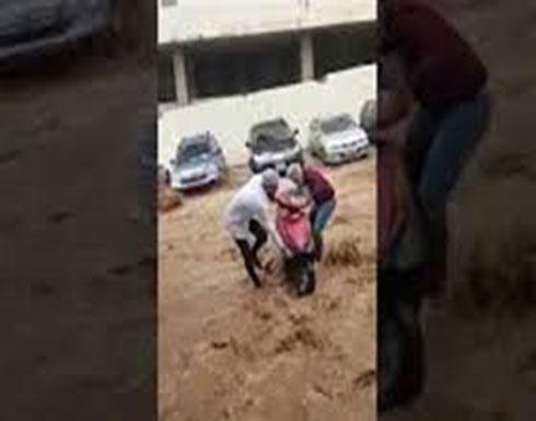شاهد : امطار لبنان عصر الخميس