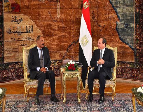 في ظل التوتر مع السودان وإثيوبيا.. مباحثات مصرية إريترية