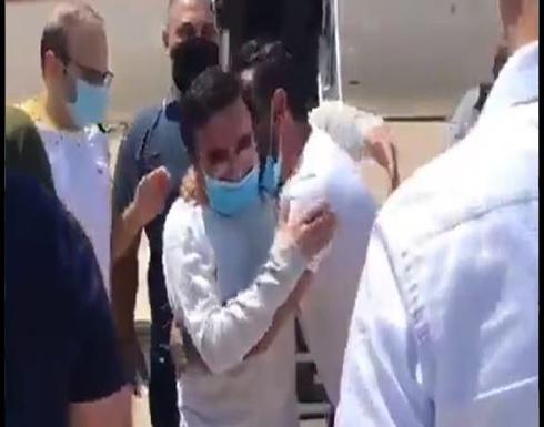 شاهد : وصول تاج الدين إلى بيروت بعد إطلاقه من سجون أميركا