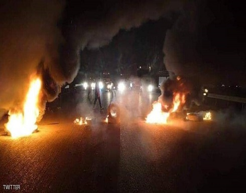 """قطع الطريق بين الديوانية وبغداد احتجاجا على """"المرشح الجديد"""""""