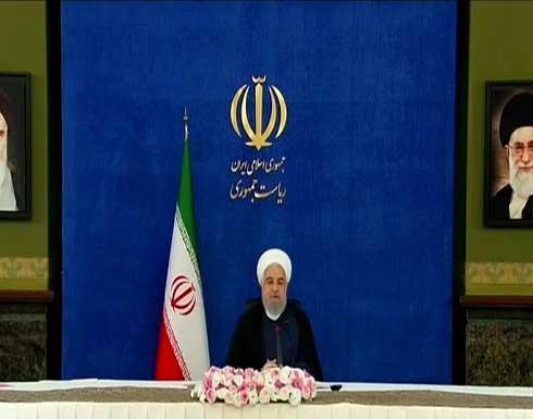 روحاني يؤكد أن حكومته منعت وقوع حرب على بلاده