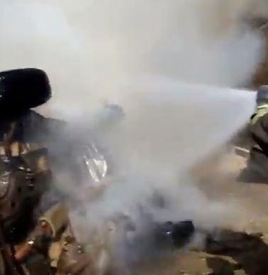 شاهد .. انفجار سيارة مفخخة وسط مدينة عزاز بريف حلب الشمالي.