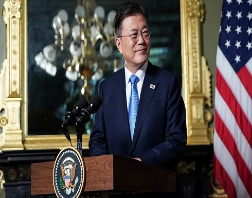 """رئيس كوريا الجنوبية: بايدن """"يعيد الروح"""" لأمريكا"""