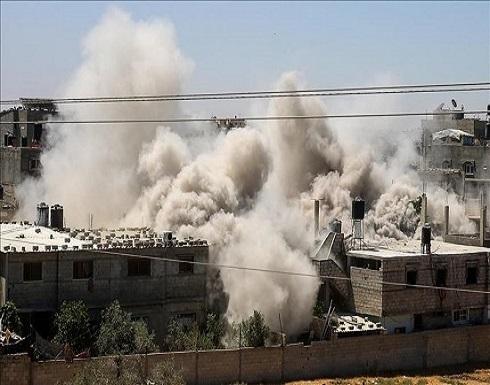 مقاتلات إسرائيلية تشن سلسلة غارات على قطاع غزة