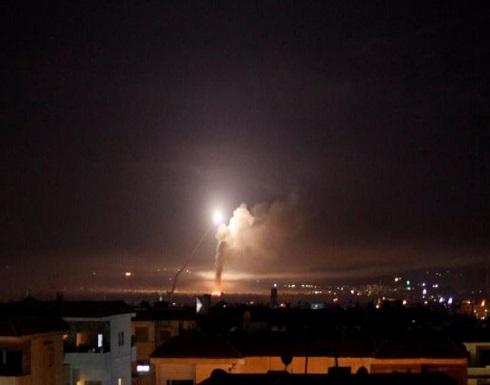 الدفاعات الجوية السورية تتصدى لعدوان إسرائيلي يستهدف المنطقة الجنوبية .. بالفيديو