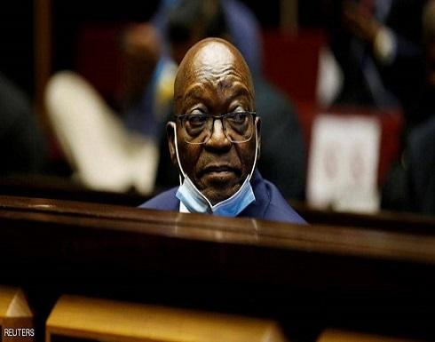 حكم بسجن رئيس جنوب أفريقيا السابق 15 شهرا