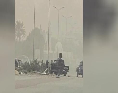 شاهد : لحظة تعرض موكب باشاغا لهجوم في طرابلس