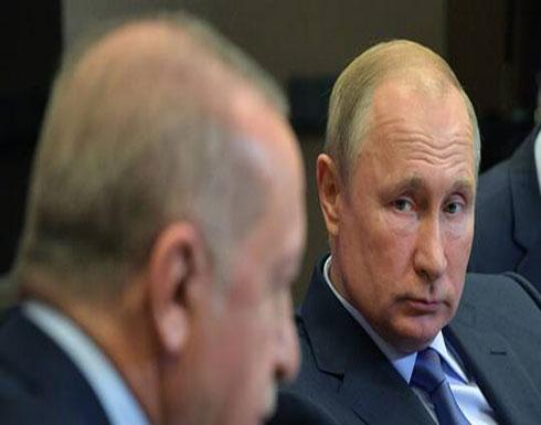 بوتين وأردوغان يبحثان المستجدات الإقليمية والأوضاع في ليبيا وإدلب