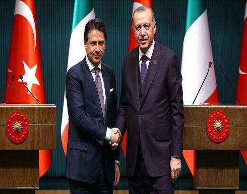 الرئيس أردوغان يبحث مع كونتي  و رئيس وزراء بلغاريا قضايا إقليمية
