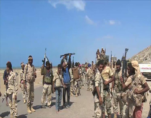 الجيش الوطني يمشط المخا ويلاحق فلول الحوثيين