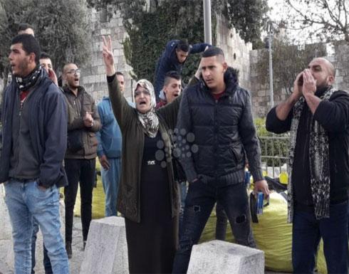 إصابات بمواجهات غاضبة مع الاحتلال بالضفة والقطاع..صور