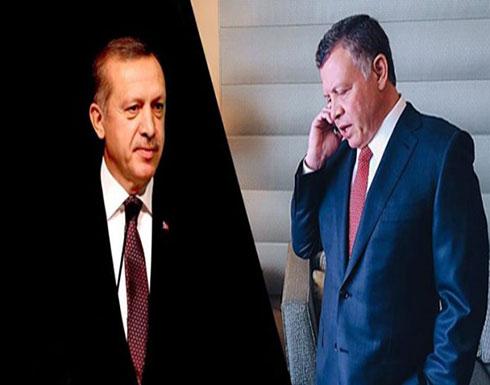 اردوغان يهاتف الملك ويتمنى التوفيق للرزاز