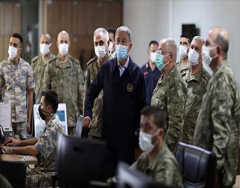 أكار: على اليونان السعي لحلول سلمية وليس عسكرية