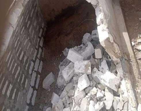 المتهم بنبش قبر متوفاة كورونا بحلوان اعتدى عليها جنسياً قبل حرق جثتها