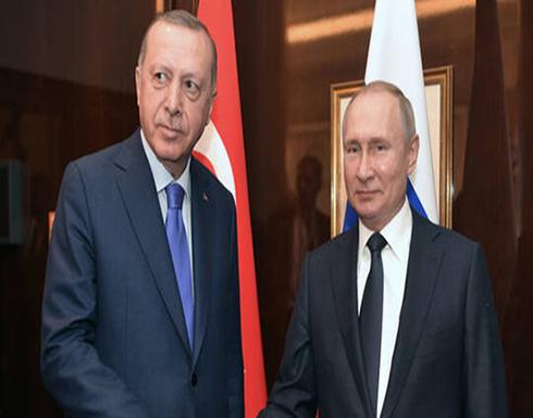بوتين وأردوغان يبحثان أفق تصدير اللقاحات الروسية ضد كورونا إلى تركيا وإنتاجها في أراضيها