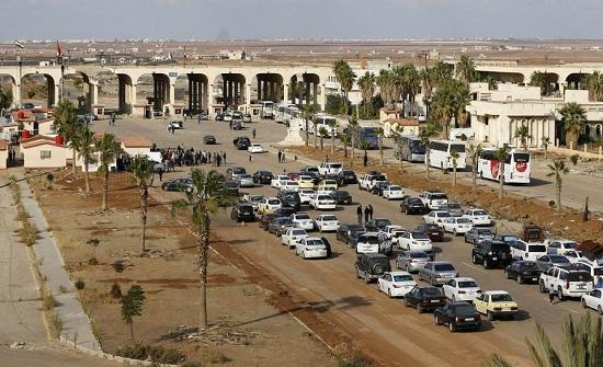 153 ألف سوري غادروا الأردن خلال عام