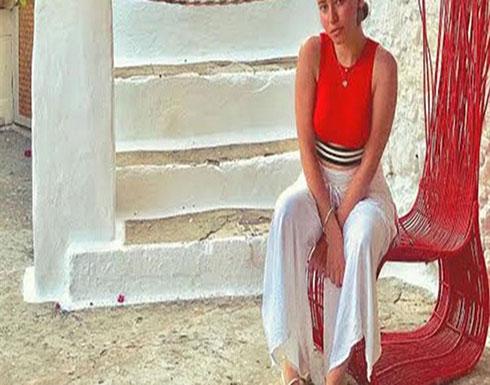 سارة الشامي في أحدث جلسة تصوير في اليونان