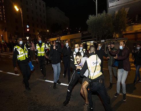 إسرائيل.. اعتقال 3 متظاهرين باحتجاجات ضد نتنياهو بالقدس
