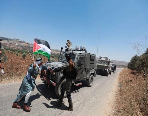 """قرب مباني الفلسطينيين.. هكذا يزرع الجيش الإسرائيلي عبوات ناسفة في قرية """"كفر قدوم"""" بالضفة الغربية"""