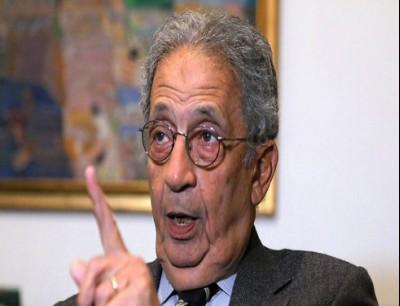"""عمرو موسى : لا أفهم أن تكون """"اللا سامية"""" جريمة، بينما """"اللا إسلامية"""" وجهة نظر!"""