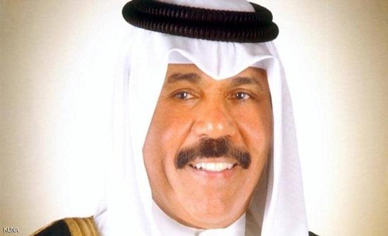أمير الكويت يؤكد ثقته بالحكومة للاستمرار بمهامها