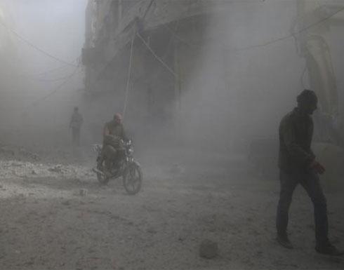 مجددا..طائرات سورية وروسية تقصف مناطق سكنية في الغوطة الشرقية