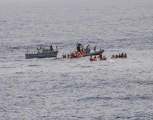 إنقاذ 105 مهاجرين بعد غرق مراكبهم قبالة سواحل تونس