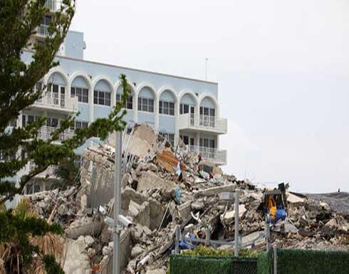 ارتفاع عدد ضحايا موقع انهيار المبنى في فلوريدا الأمريكية إلى 78 قتيل