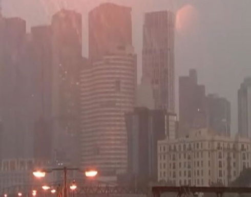بالفيديو : أمطار غزيرة تغرق أستراليا بعد أشهر من الحرائق