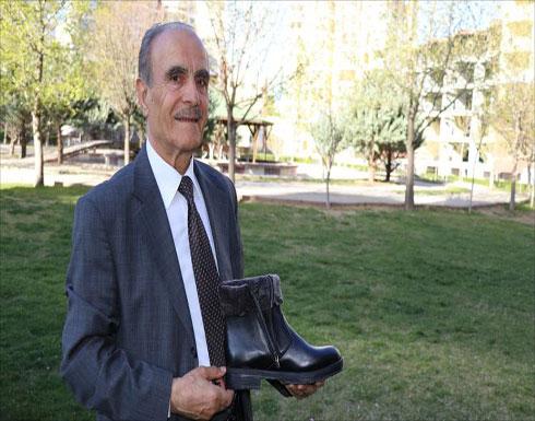 تركي يطور حذاء يدفئ القدمين