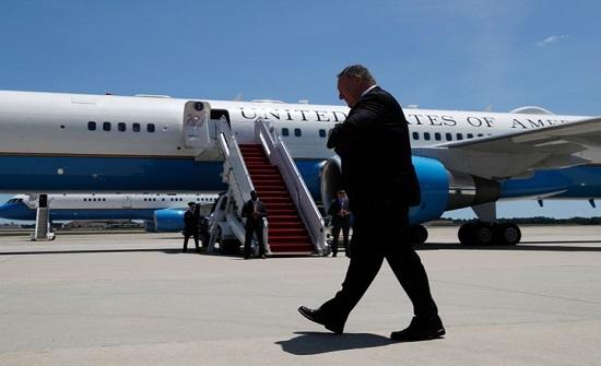 """بومبيو يصل السودان برحلة مباشرة من """"تل أبيب"""".. هكذا علق"""