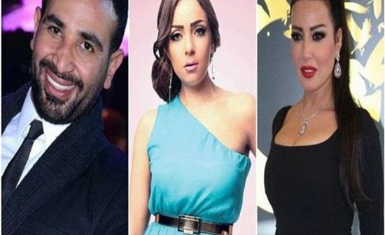 أول تعليق من ريم البارودي على طلاق سمية الخشاب وأحمد سعد-فيديو