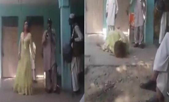 فيديو  رصاصة أحد المحتفلين تُصيب راقصة في رأسها وتقتلها!