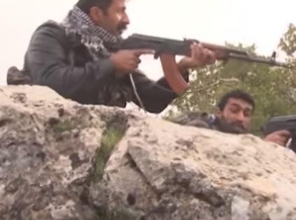 شاهد ... عمليات القوات الكردية في محيط عفرين السورية