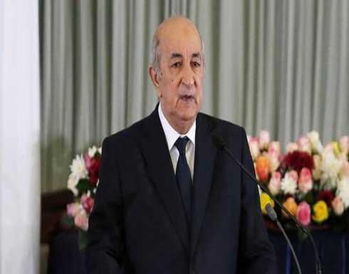 الرئيس الجزائري يوقع مرسوما يستدعي الهيئة الناخبة