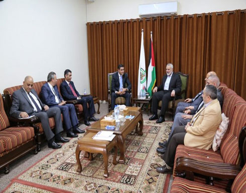الوفد المصري التقى مسؤولين إسرائيليين عقب اجتماعه مع هنية