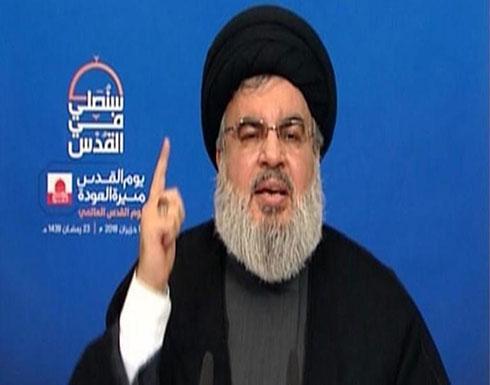هذا ما قاله نصر الله عن تفجير لبنان